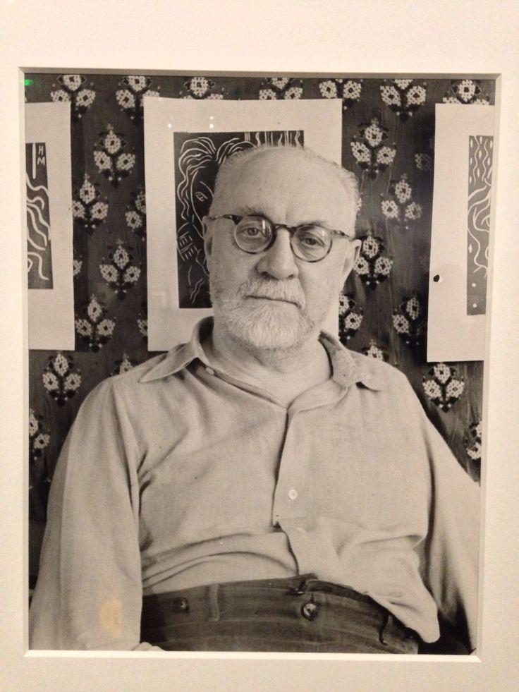 Henri Matisse par Erwin Blumenfeld (Paris, 1936)
