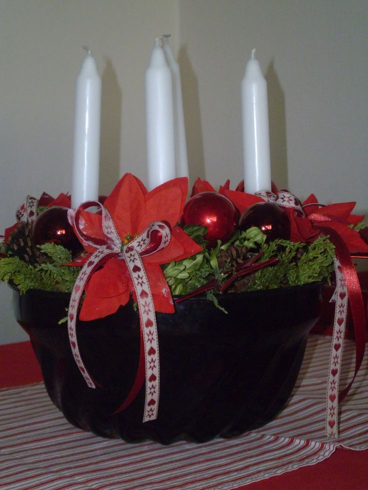 advent wreath... in The marble Cake Form