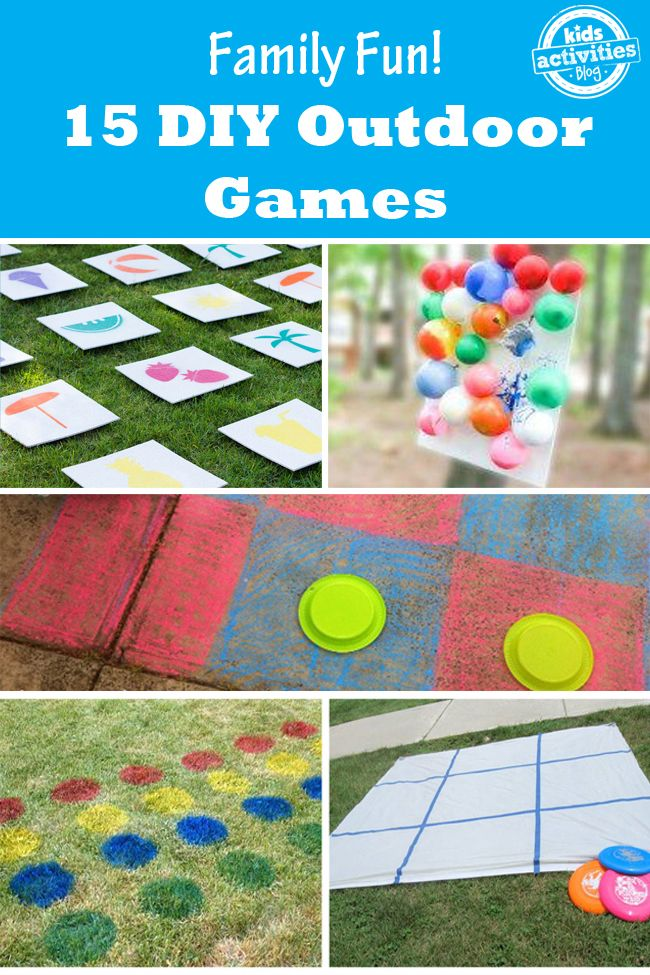 15 Outdoor Games that are Fun for the Whole Family