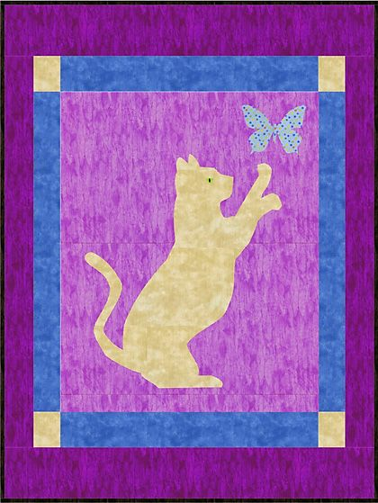 Cat Quilt Patterns Bing Images Quilts Dogs And Cats