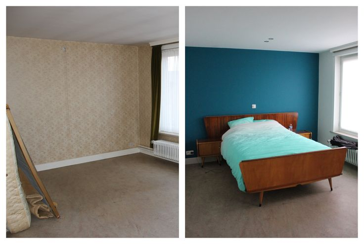 Before/ After: Our vintage bedroom - found at Ecoshop.