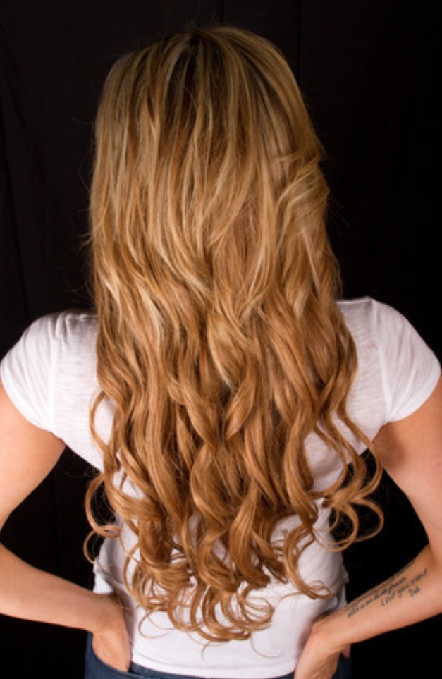 Bellami Dirty Blonde Extensions Summer Highlights