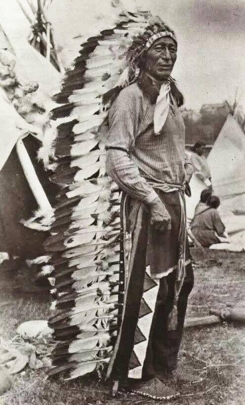 Iron Tail 1902 Oglala Nation