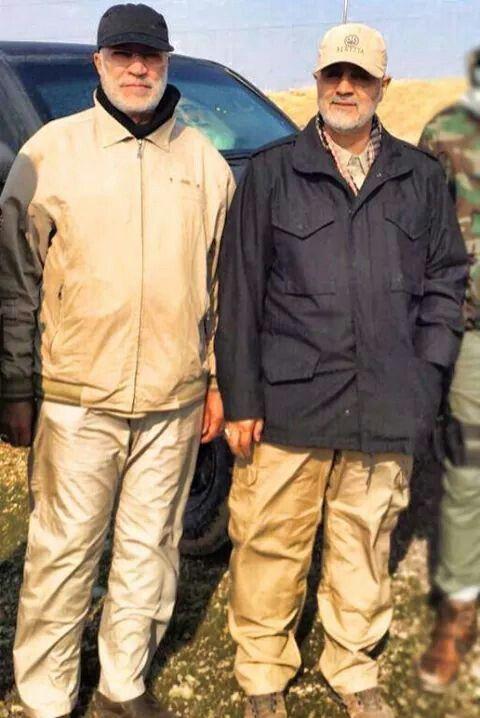 القادة في الميدان سليماني والمهندس