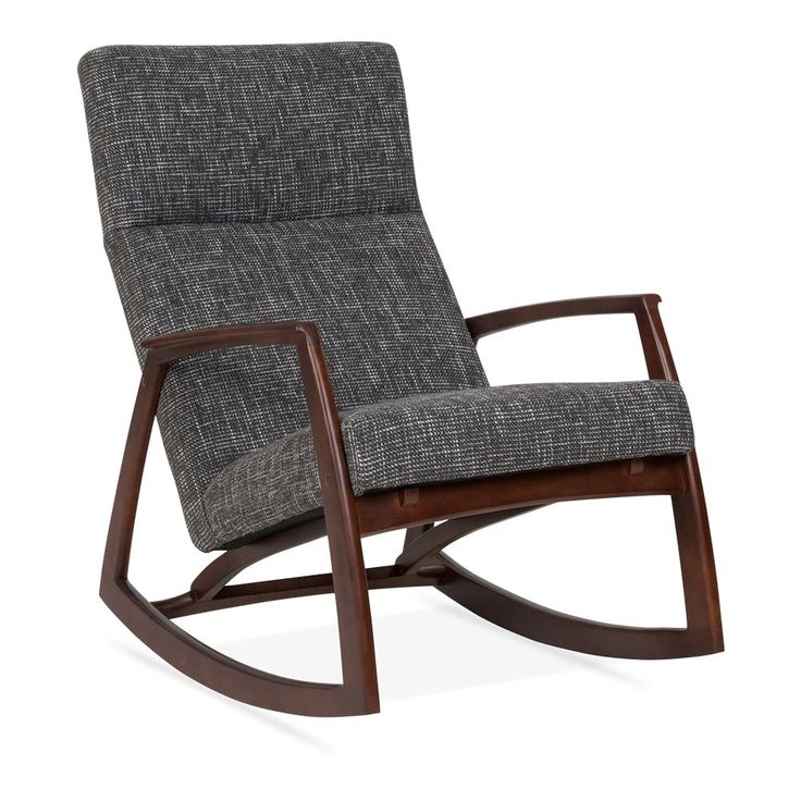 Cult Living Stanley Rocking Chair - Grey