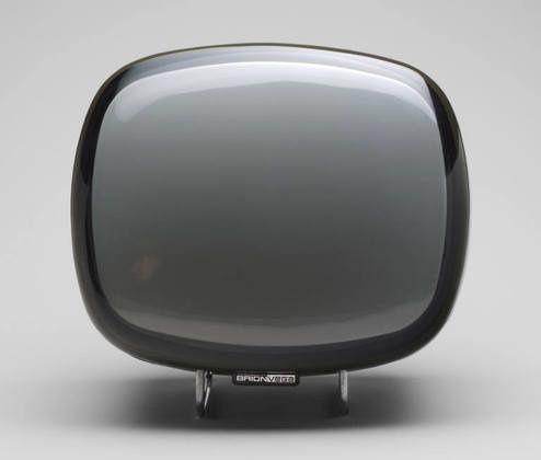Doney portable Brionvega TV. Design: Marco Zanuso & Richard Sapper. Compasso d'Oro award in 1962.