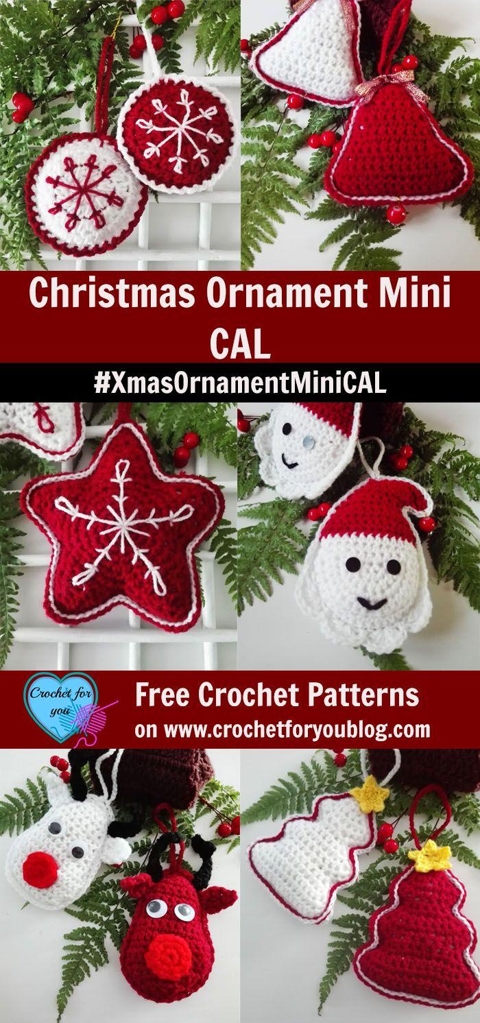 Christmas Ornament Mini CAL. #XmasOrnamentMiniCAL
