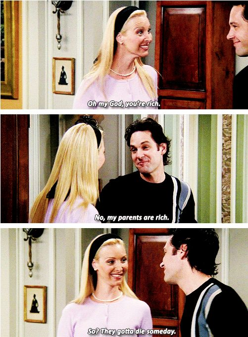 Phoebe Buffay and Mike Hannigan, Friends