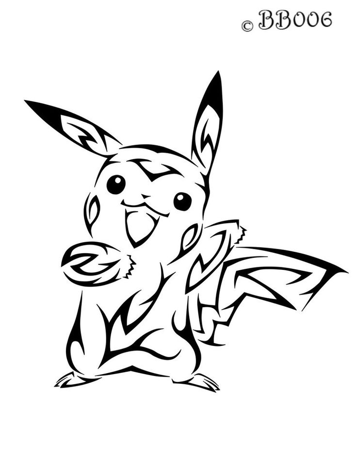 #025: Tribal Pikachu