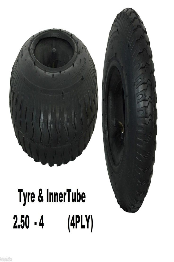 Details About Tyre With Inner Tube 2 50 4 Sack Truck Trolley Bent Valve 4 Ply 220 X 65 Inner Tubes Valve Garden Hand Tools