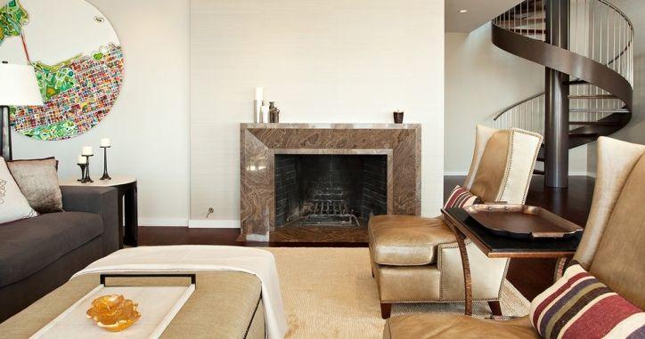 Камин из мрамора Magic Brown. Brown marble fireplace. http://www.jet-stone.ru/izdelija/zakazat-kaminy-iz-mramora-mramornye-kaminy-na-zakaz