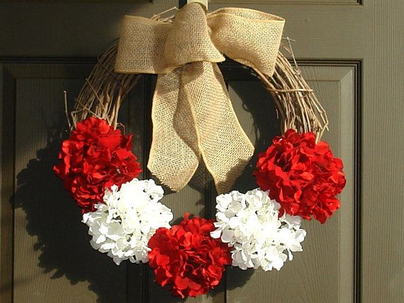 Christmas wreath fall wreath Holiday wreaths Seasons by aniamelisa, $55.00