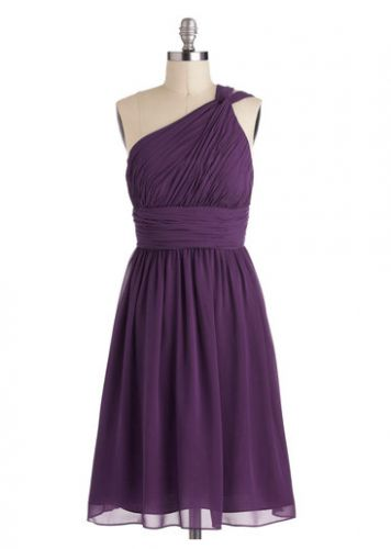 10 Unique and Affordable Bridesmaid Dresses Under $100: Moonlight Marvel, Dresses Style, Purple Bridesmaid Dresses, Color, One Shoulder, Plum Bridesmaid Dresses, The Dresses, Marvel Dresses, Plum Dresses