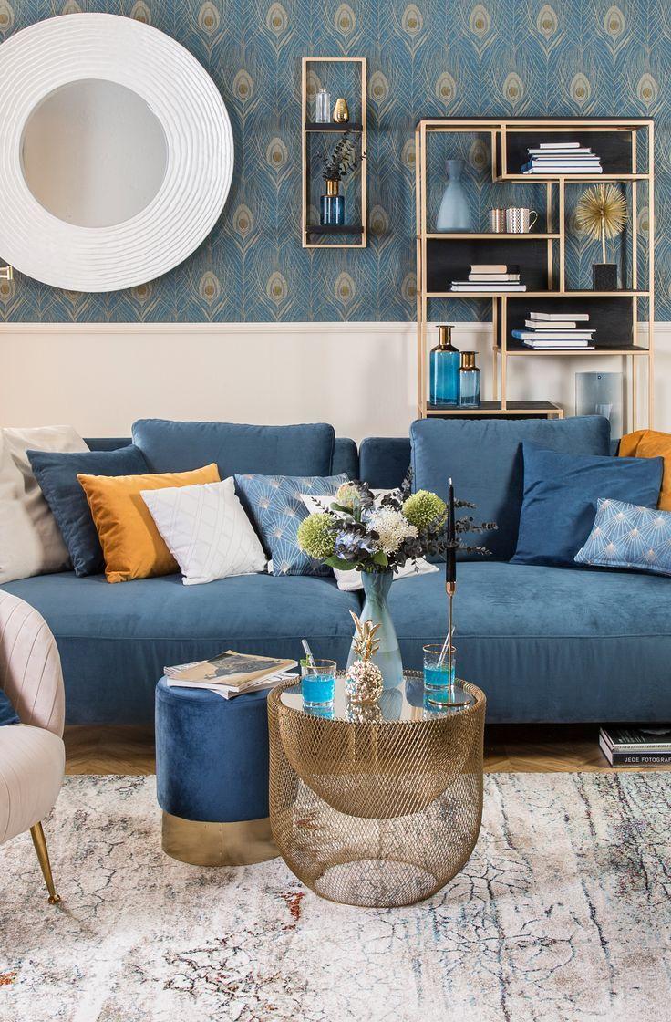 Blue Velvet  Wohnen, Wohnaccessoires, Einrichten und wohnen