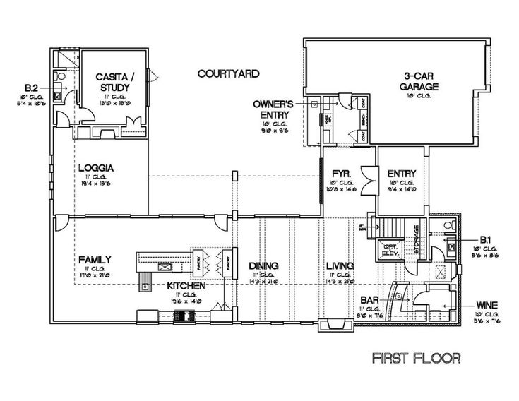 Plans With Casitas Or Office/Flex Rooms   Time To Build