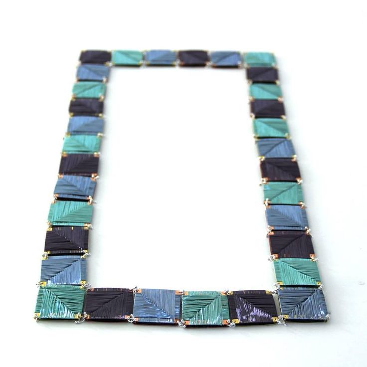 Inbar Shahak -    Weaving tiles necklace: