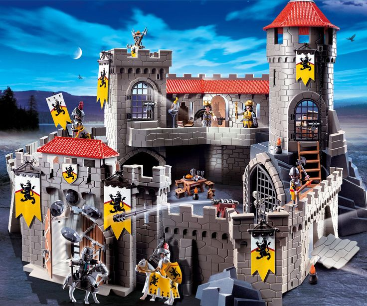 Playmobil new Castle | If you like the Playmobil Lion Knights' Castle, then may we also ...
