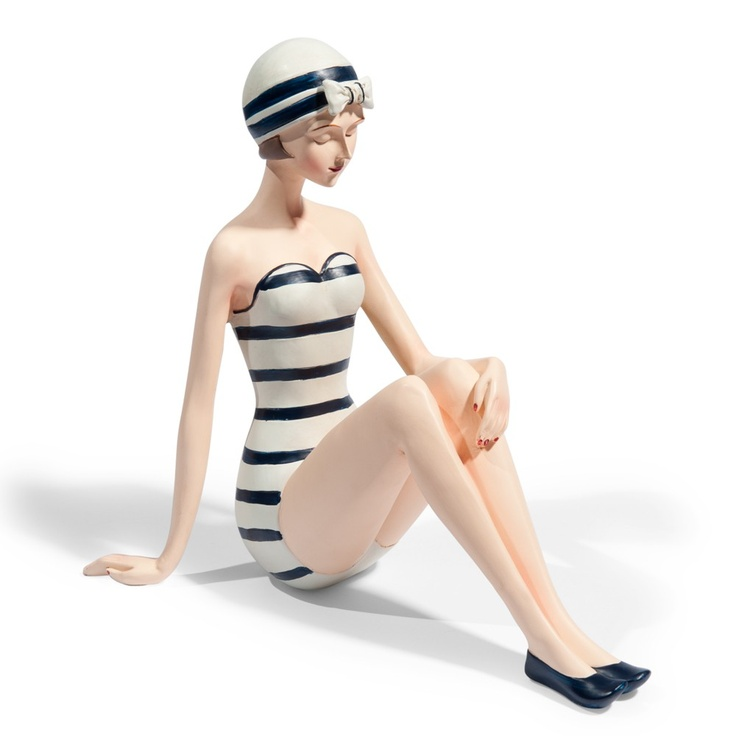 Marinella swimmer figurine
