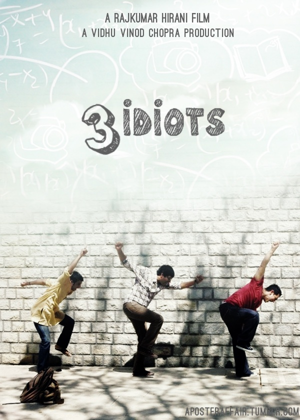 3 idiots - haha the life of an engineering student :)