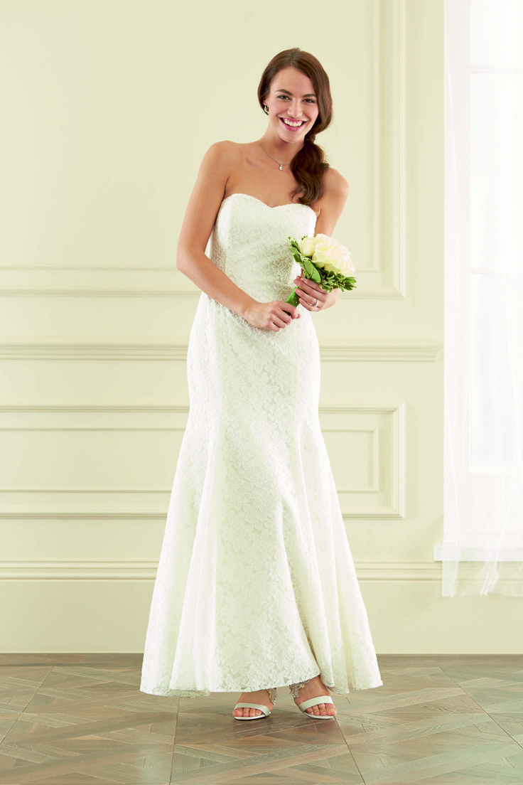 What Is Your Dream Wedding Dress Small Strapless Lace