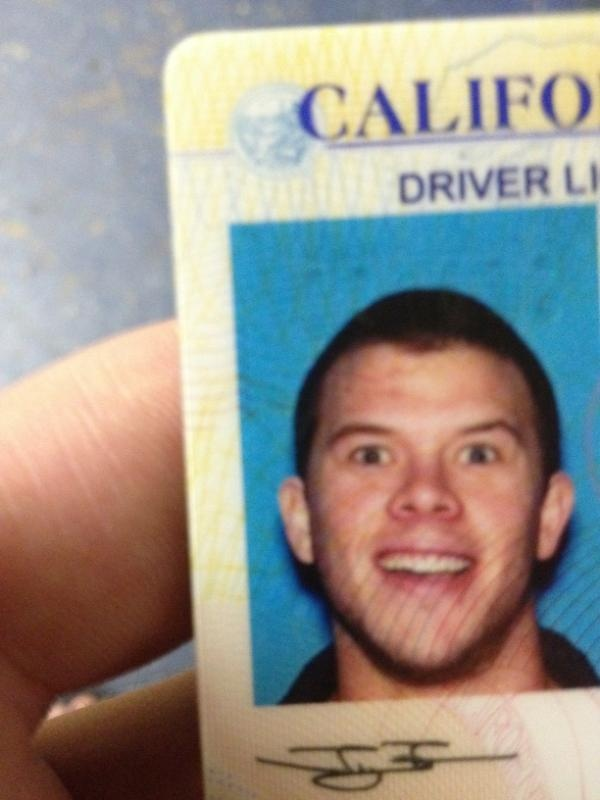 """@JimmyTatro: New license picture. I'm quite satisfied"" I'm so in love with Jimmy Tatro ♥"