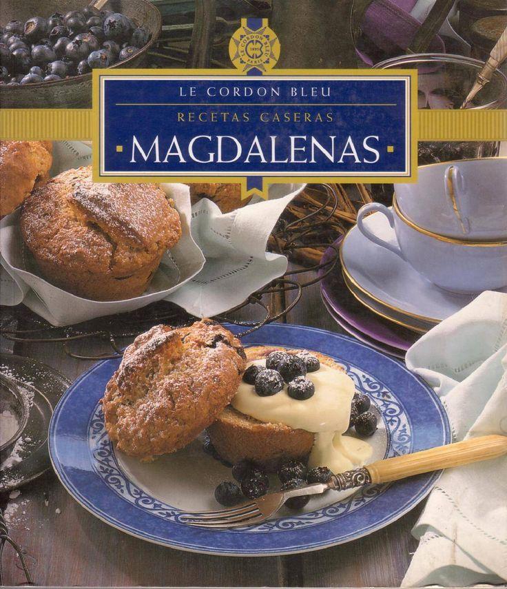 Libro de Le Cordon Bleu sobre magdalenas