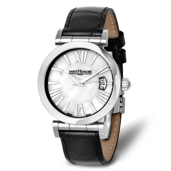 Zegarek Saint Honoré Paris, 1695 PLN www.YES.pl/51047-zegarek-saint-honore-paris-TC32368-S0000-SAO000-000 #jewellery #Watches #BizuteriaYES #watch #silver #elegant #classy #style #buy #Poland