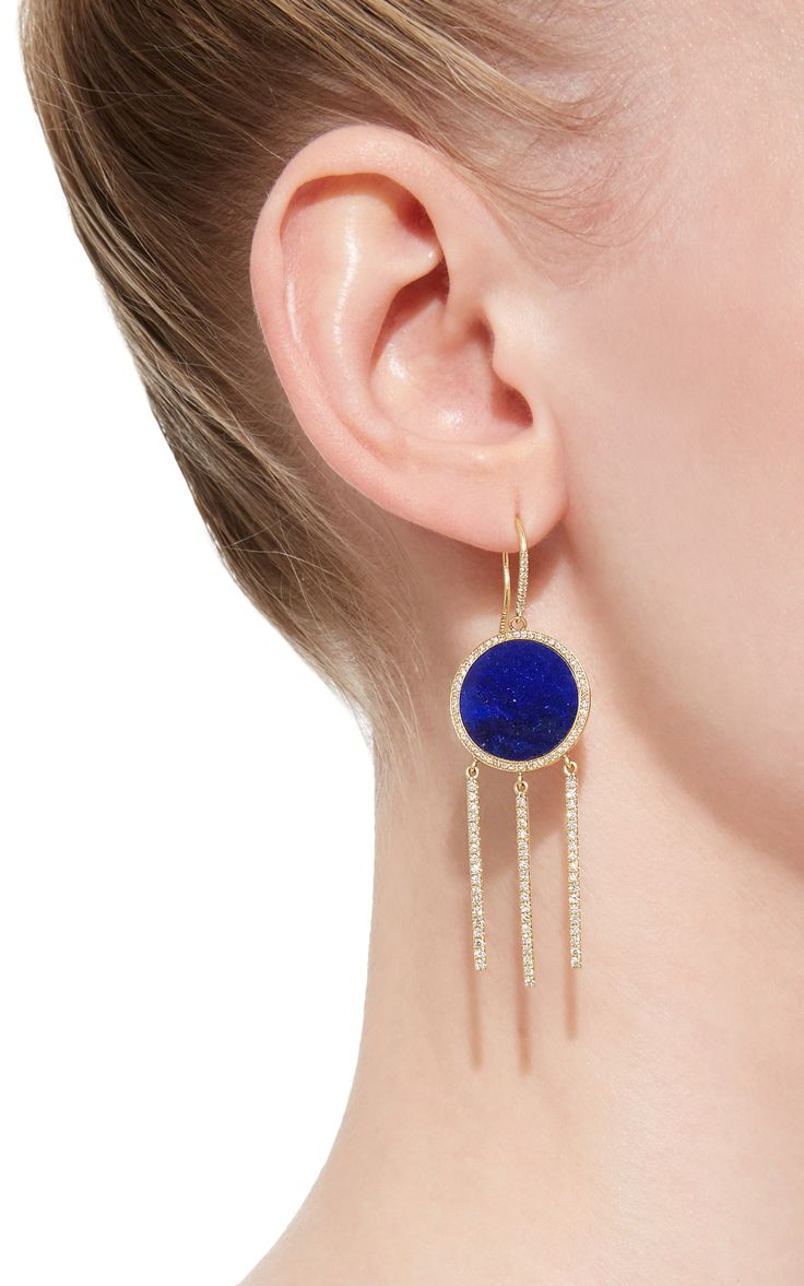 Fringe Earrings by Jennifer Meyer