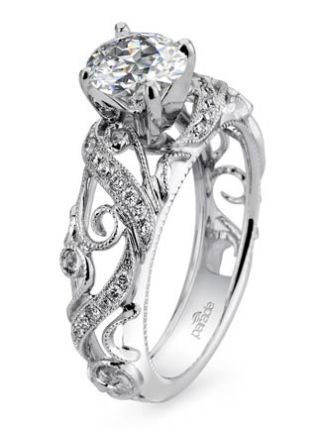 7 Vintage-Inspired Engagement Rings | The Knot Blog – Wedding Dresses, Shoes, & Hairstyle News & Ideas