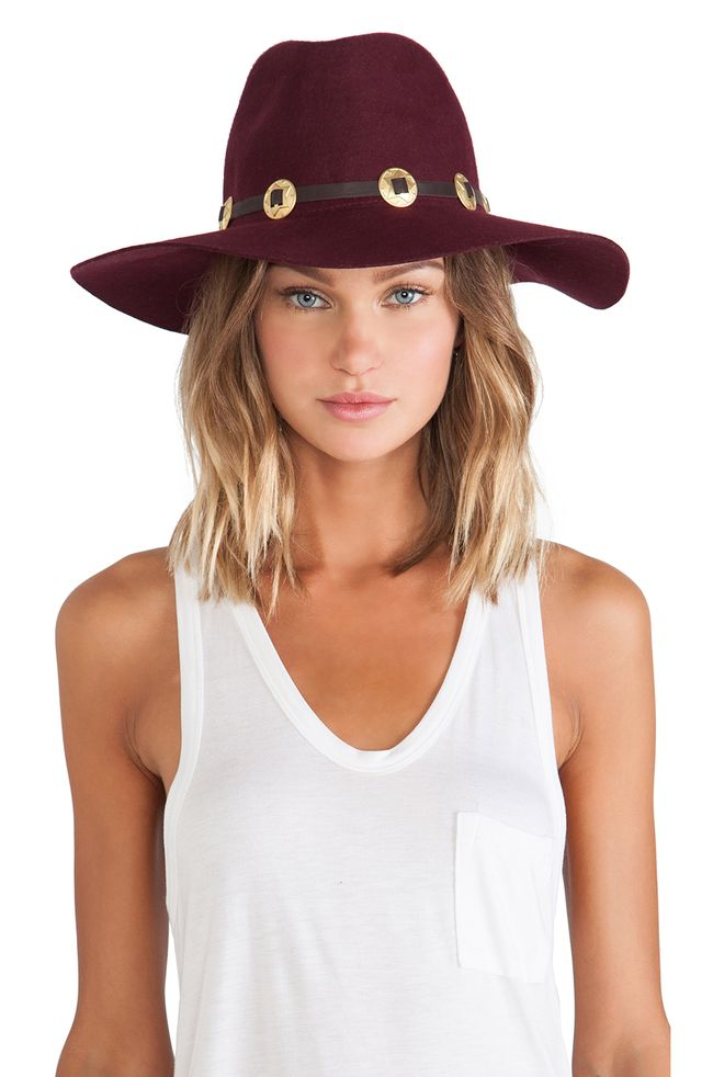 Buenos Aires Gold Concho Hat (2)