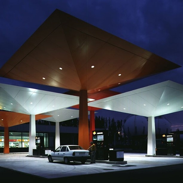 Top 5 Modern Garage Designs: 26 Best Images About Gas Station Decor On Pinterest