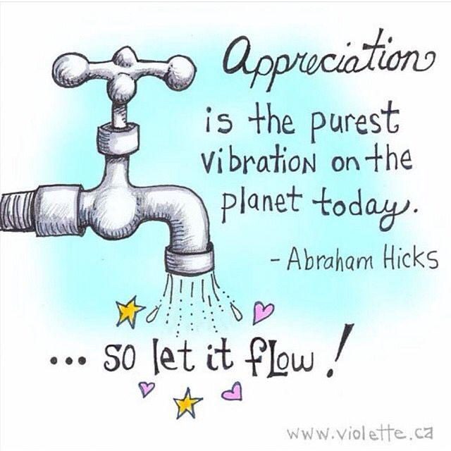Good morning Saturday!  Let it flow!  Tell me what you have to be grateful for this fine day.