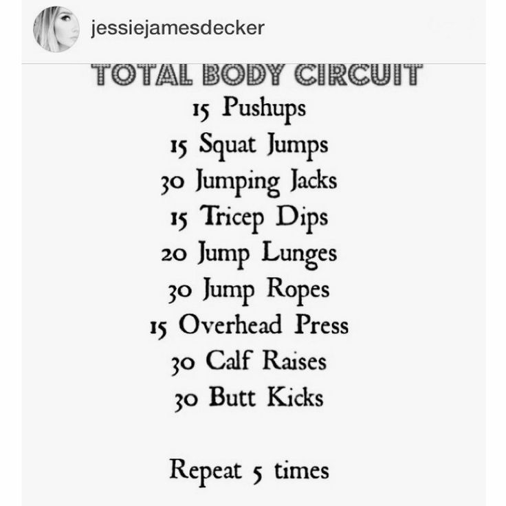 Jessie James Decker - Total Body Circuit