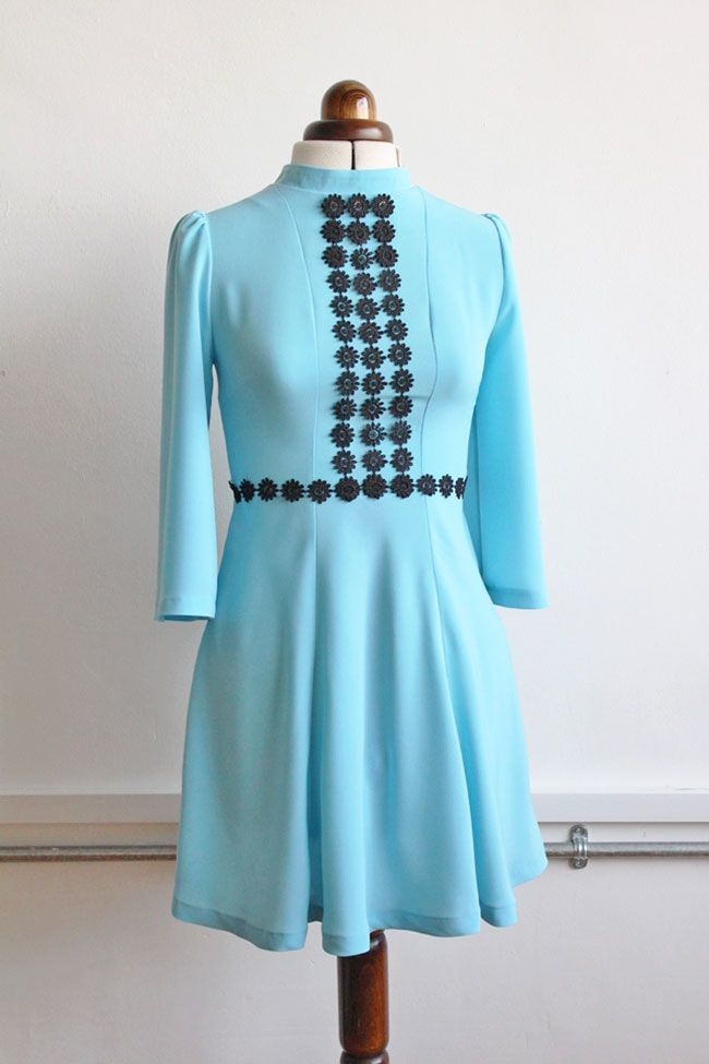Trimming ideas for the Martha dress - sewing pattern from Tilly and the Buttons