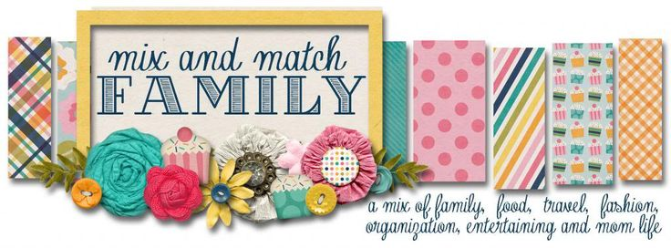 Mix and Match Family: Five Days of Fabulous: DAY FIVE GIVEAWAY!