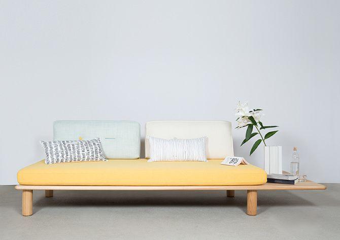 Sushi sofa by Joa Herrenknecht