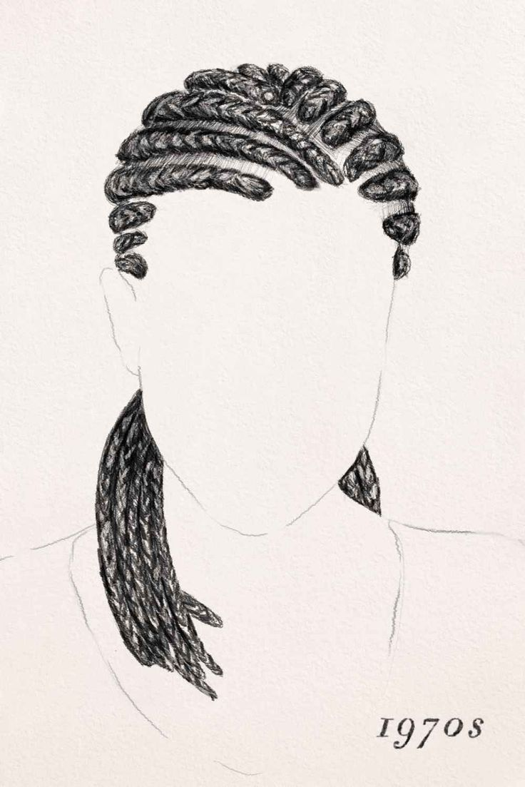 how to use a pencil to loosen braids