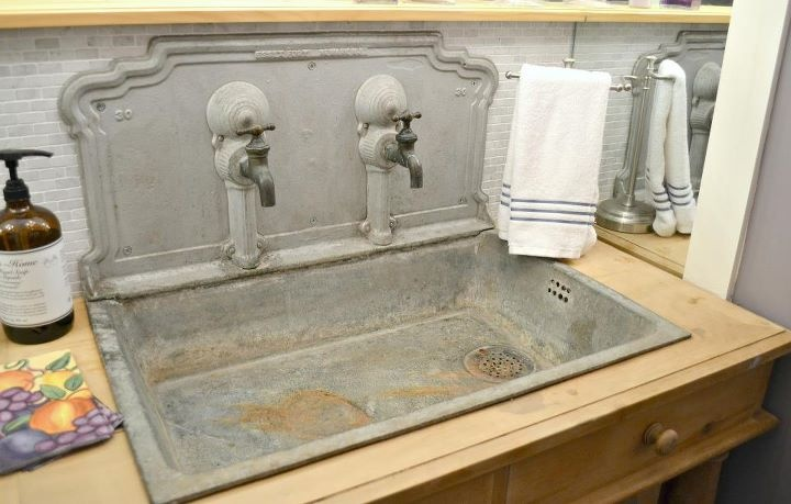 Kitchen Zinc Or Sink Seriously Cool Zinc Sink Kitchens Of Drool