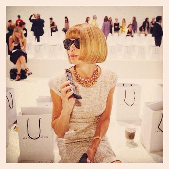 Anna Wintour ... Vogue