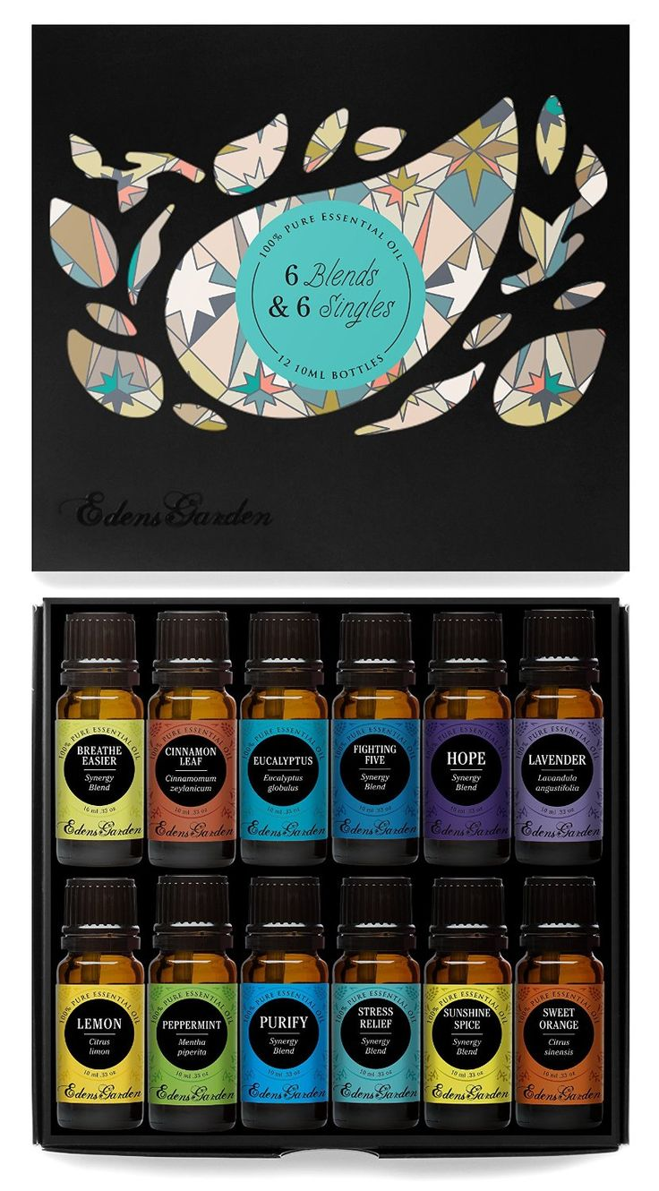 6) Synergy Blends and 6) Top Single Oils 100 Pure