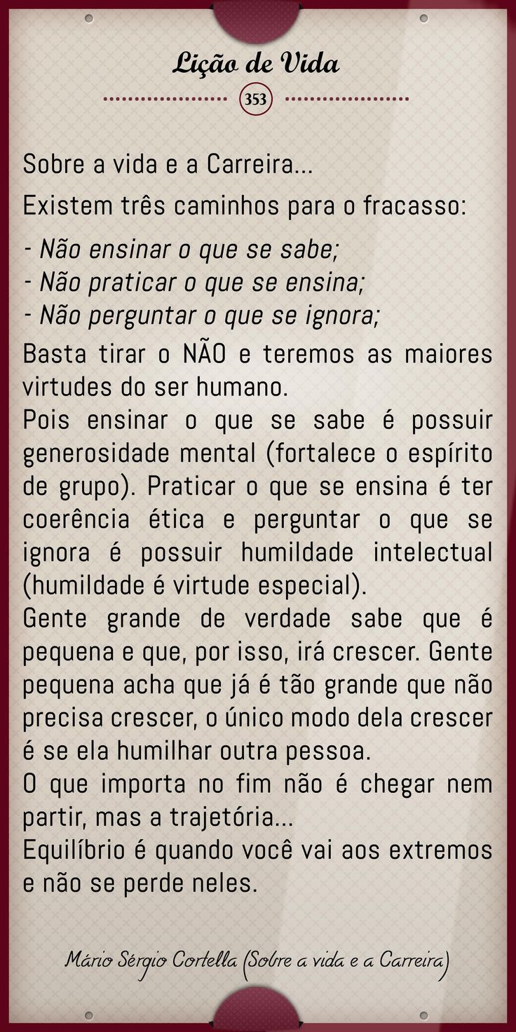 Vida e Carreira Mário Sérgio Cortella