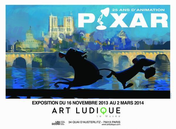 Can't Wait!  #Pixar #Paris #ArtLudique