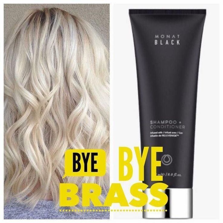 Bye Bye Purple Shampoo