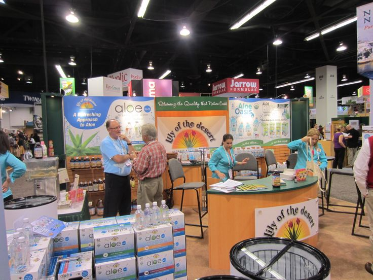 Have you tried the aloe products from Lily of the Desert yet? Natural Products Expo West