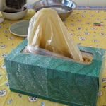 20+ Ways To Make A Plastic Bag Holder: {Patterns & DIY} : TipNut.com