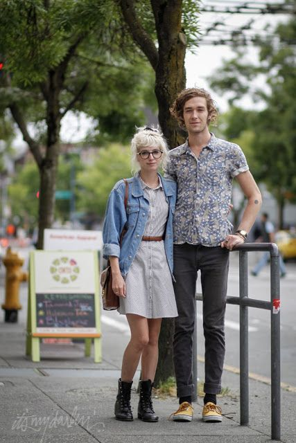 it's my darlin' seattle street style: Sharon Frajlich and Nick Anderson | Broadway & John