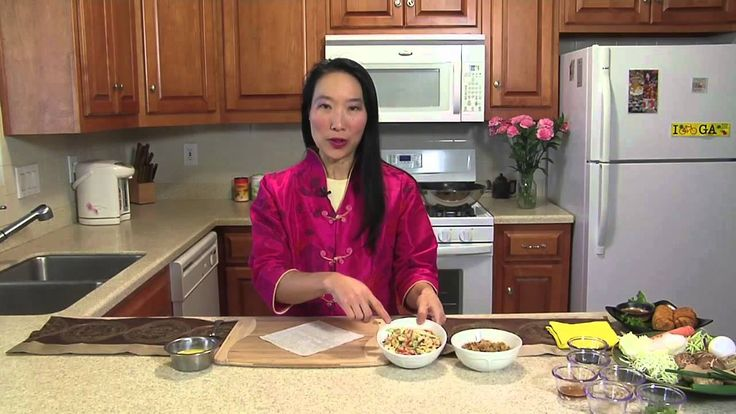 How to Make Authentic Chinese Egg Rolls : Chinese Food at Home