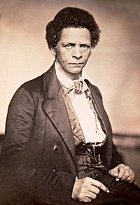 Joseph Jenkins Roberts was the first (1848–1856) and seventh (1872–1876) President of Liberia. Born free in Norfolk, Virginia, USA, Roberts emigrated to Liberia in 1829 as a young man. He opened a trading store in Monrovia, and later engaged in politics. When Liberia became independent in 1847, Roberts was elected the first president, serving until 1856. In 1872 he was elected again to serve as Liberia's seventh president.