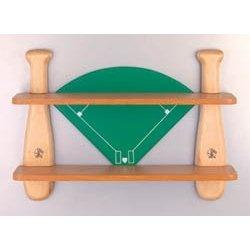 for andrew; baseball shelf