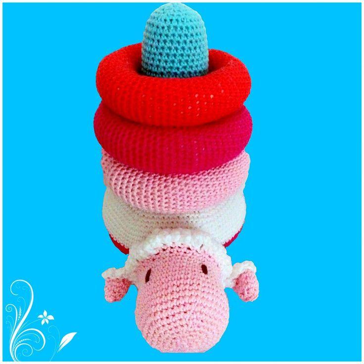 Excelente Patrones De Crochet Libre De Juguete Molde - Manta de ...